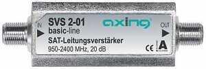 Axing-SVS-2-01-SAT-Leitungsverstaerker-95-2400-MHz-20-dB-SAT-inline-amplifier
