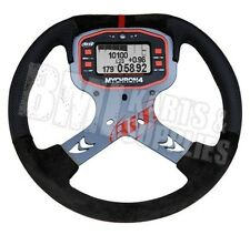 Aim Mychron 4 Steering Wheel with Bracket Set (Tach Not Included) Go Kart Racing