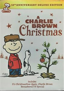 Charlie Brown Christmas 50th.Details About A Charlie Brown Christmas 50th Anniversary Dvd 1965 Brand New