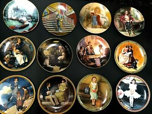 U-PICK-Knowles-Norman-Rockwell-Kursar-Series-Collector-Plate-Gone-Wind-China