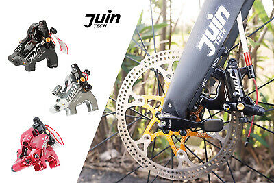 Juin Tech R1 Road Cyclocross Gravel Bicycle Bike Hydraulic Disc Brake Set Gold
