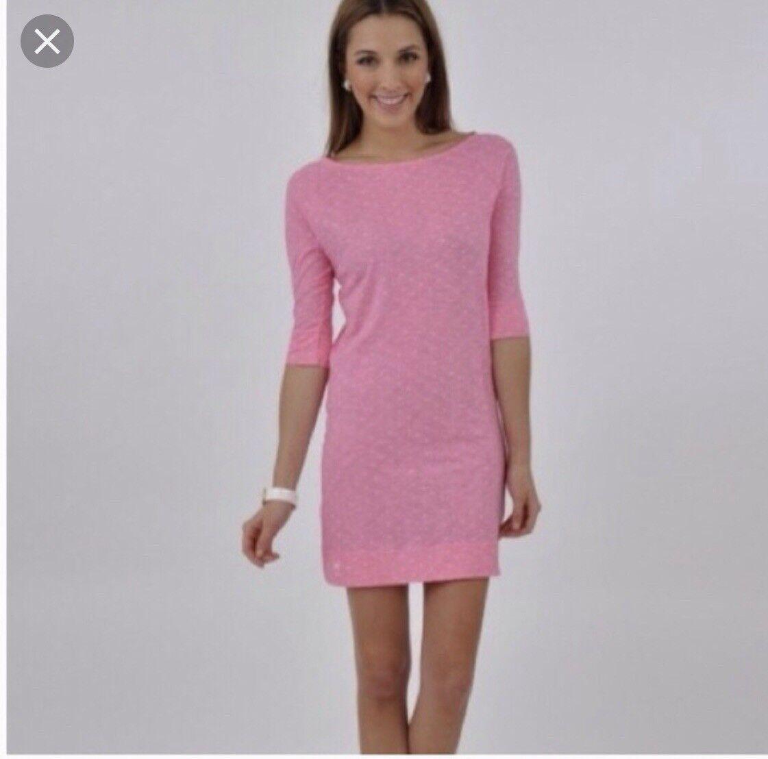 Lilly pulitzer Cassie Polka Dot Pink Dress XS