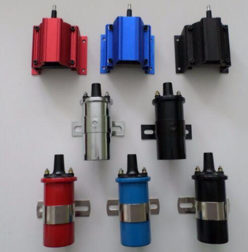 BLACK 45K COIL CHRYSLER 318-360 BLACK SMALL HEI Distributor Spark Plug Wires