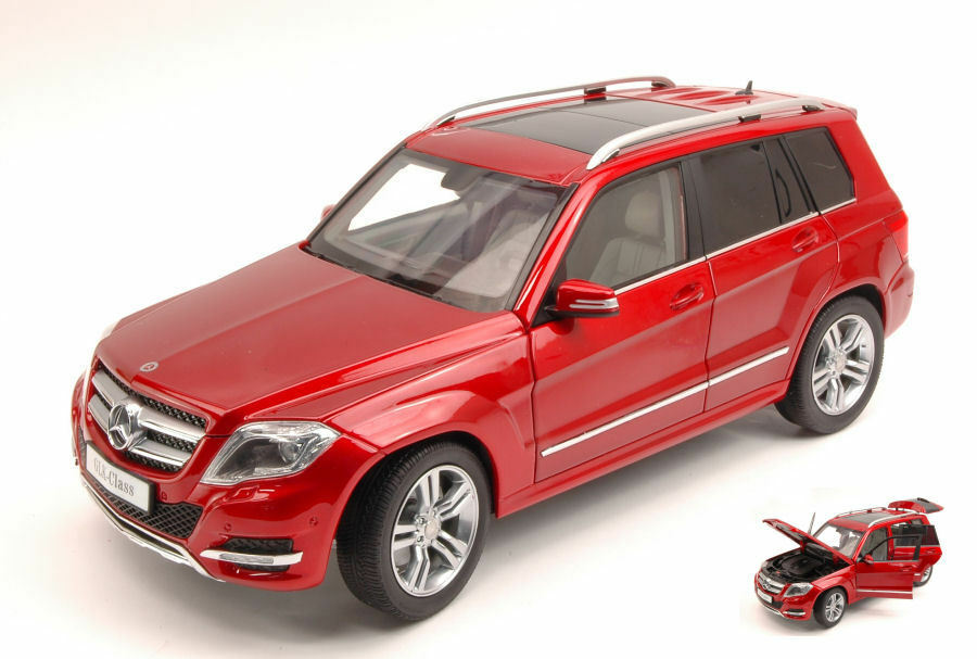 Mercedes Glk 300 4matic 2013 rot Gt Edition 1 18 Model 11008R WELLY
