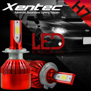 XENTEC-LED-HID-Headlight-kit-H7-White-for-Mercedes-Benz-C63-AMG-2008-2016