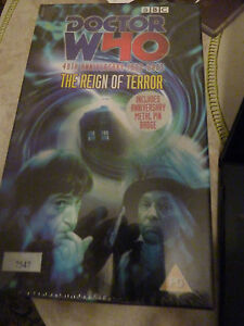 William Russell William HaDoctor Who The Reign of Terror VHS New Sealed - <span itemprop='availableAtOrFrom'>Worksop, United Kingdom</span> - William Russell William HaDoctor Who The Reign of Terror VHS New Sealed - Worksop, United Kingdom