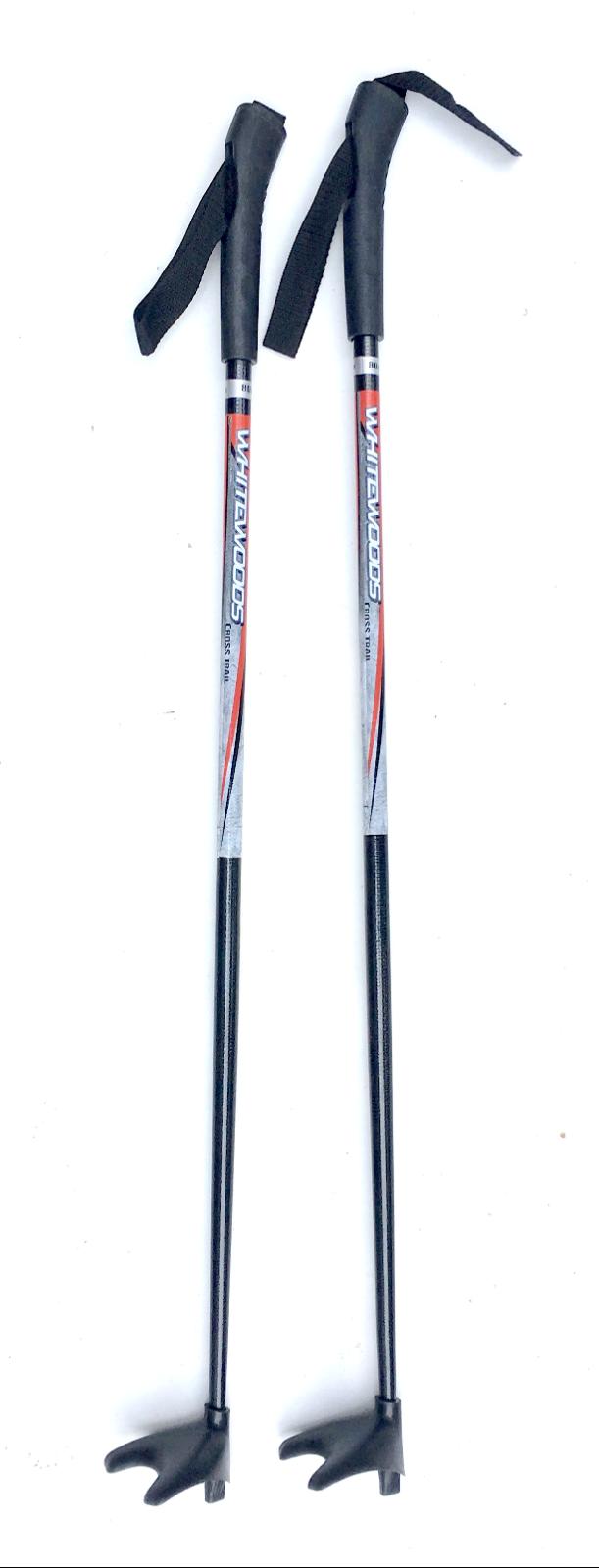 Weißwoods Junior Ski Poles with Snow Basket 80cm
