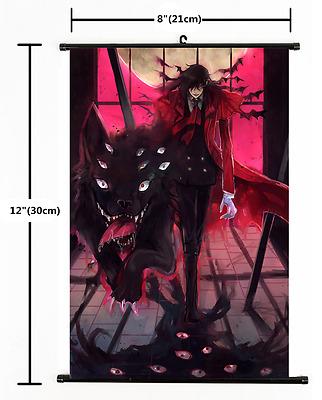 Anime Alucard Hellsing home decor Wall Scroll Poster cosplay 2438