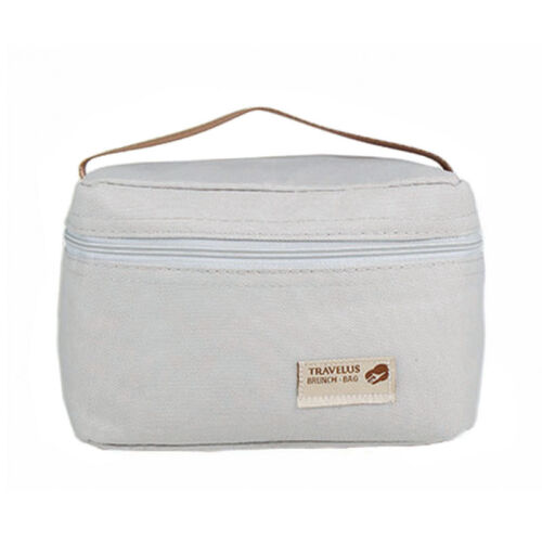 Portable Insulated Thermal Cooler Bento Lunch Box Bag Pouch Picnic Storage F//1