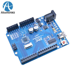NEW-UNO-R3-ATmega328P-CH340G-Replace-ATmega16U2-Mini-USB-Board