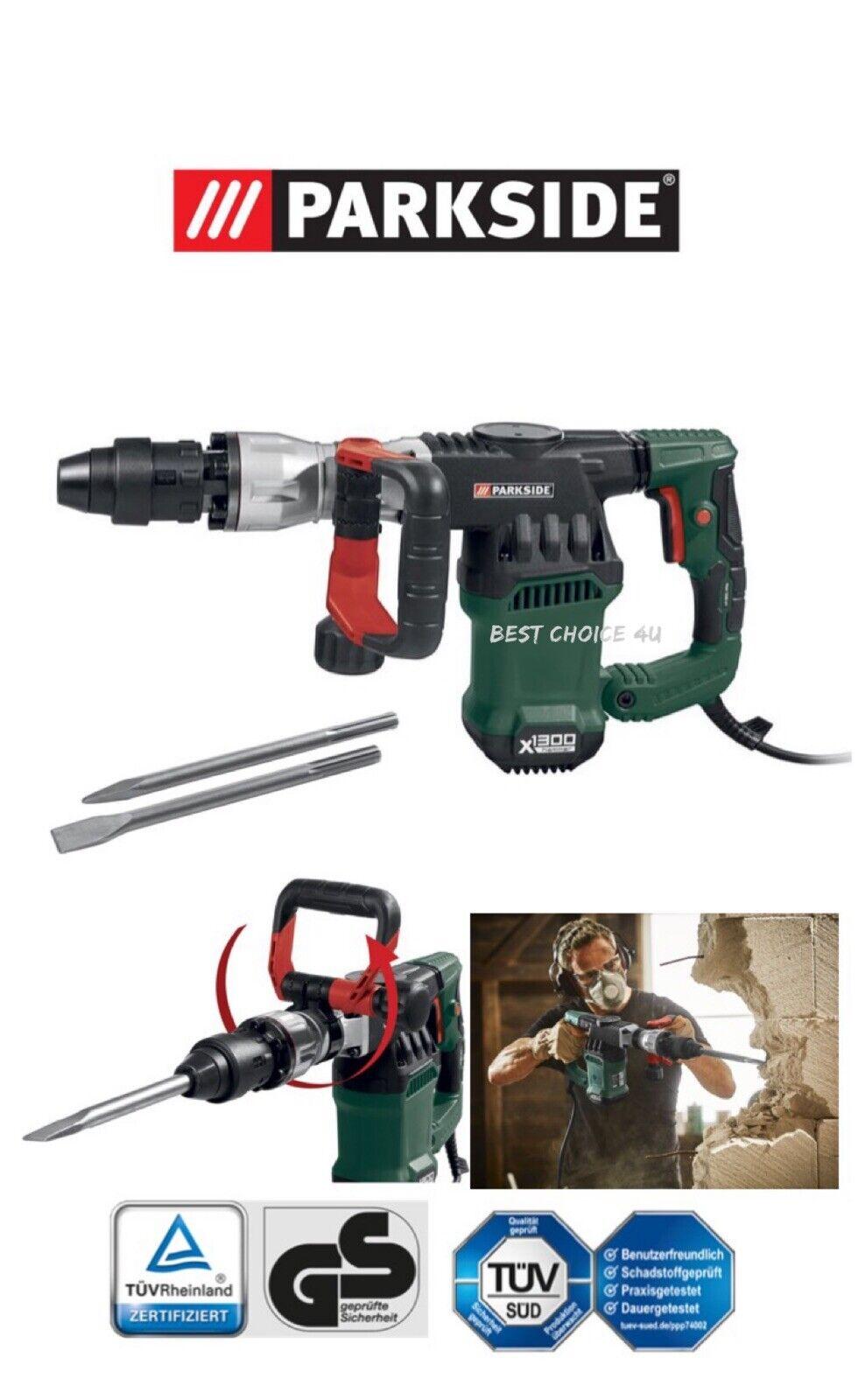 Heavy Duty 1300W SDS Demolition Hammer Drill
