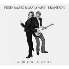 "FRED JAMES & MARY-ANN BRANDON ""WE BELONG TOGETHER"" CD NEUWARE"