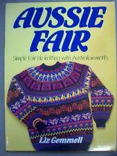Aussie Fair simple Fair Isle knitting patterns with Australian Motifs sweaters