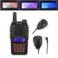 Baofeng UV-6R + MICRÓFONO 136-174/400-520Mhz Emisora PMR Radio Walkie Talkie