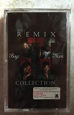BOYZ II MEN-The Remix Collection- 1995 NEW Original Factory Sealed Cassette Tape