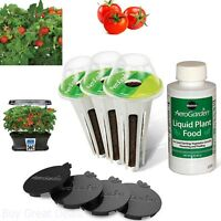 Indoor Hydroponic Herb Garden Heirloom Cherry Tomato Seed Plants 7 Pod Kit