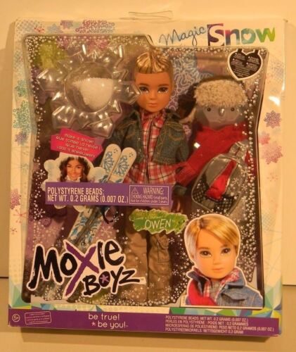 Lot of 2 MOXIE BOYZ Magic Snow Dolls ~JAXSON /& OWEN~ New in Boxes