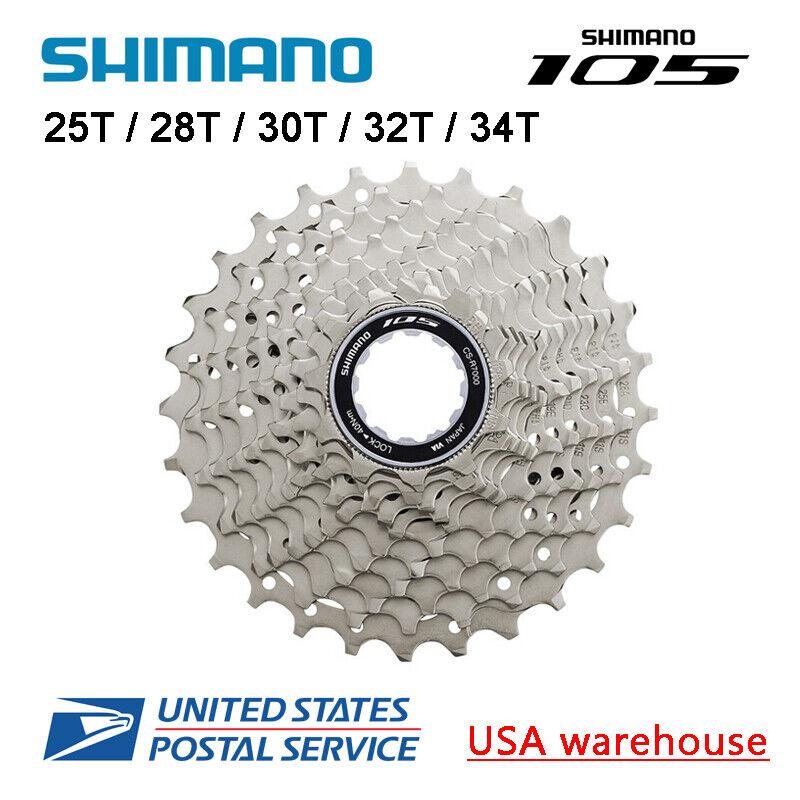 Shimano 105 CS-R7000 11-Speed Road Cassette 11-28