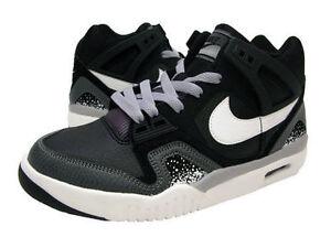 73633e9a6bc09b 654435-003 Nike Air Tech Challenge 2 Retro (GS) Black White-