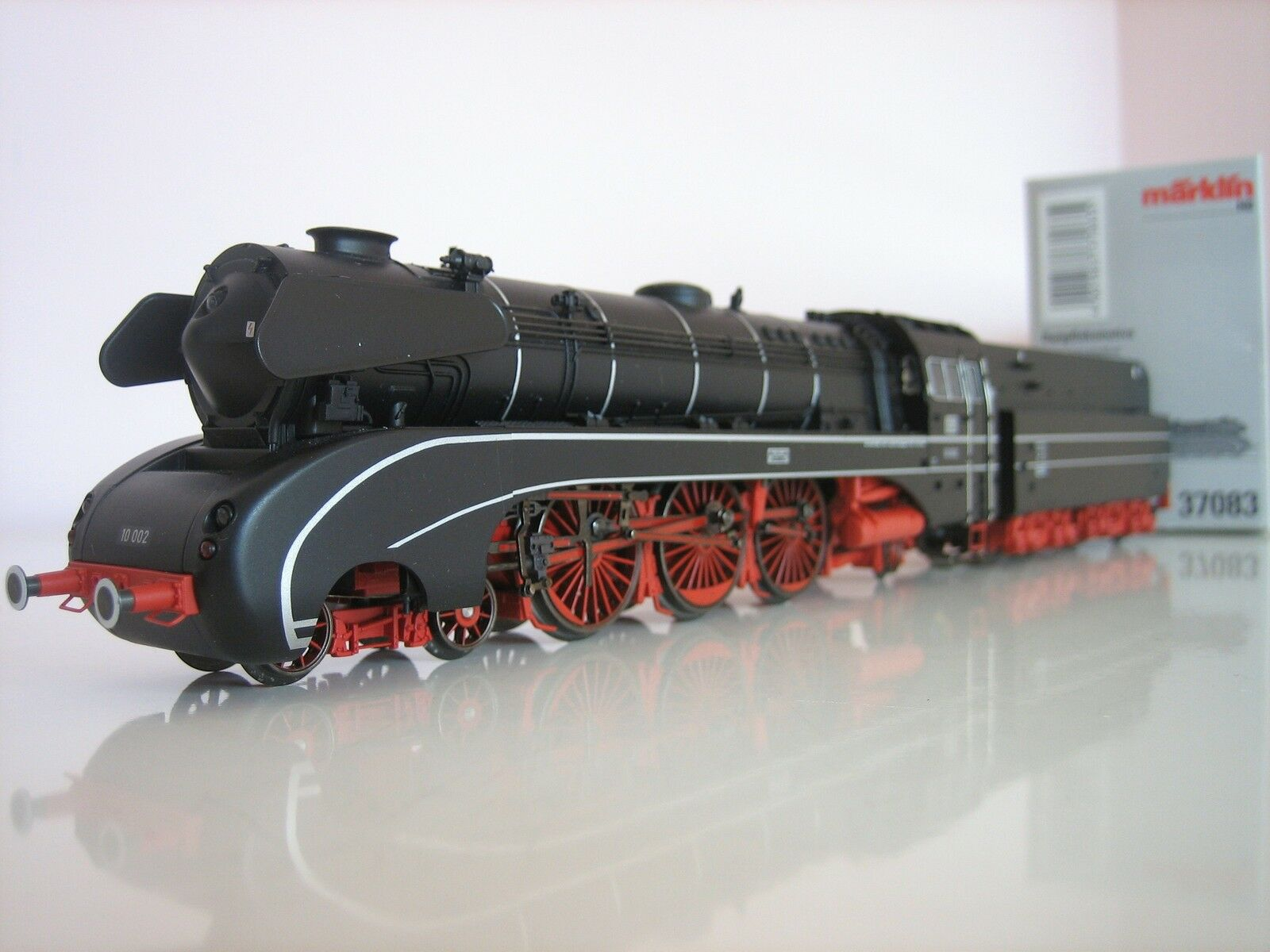 Märklin H0 37083 Locomotiva a vapore BR 10 DIGITAL SOUND CONDIZIONE NUOVA
