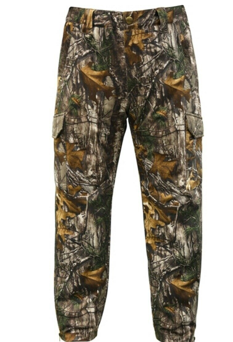 Elk Fork Men's Softshell Pants Real Tree Xtra Camp 2XL Tall Retail