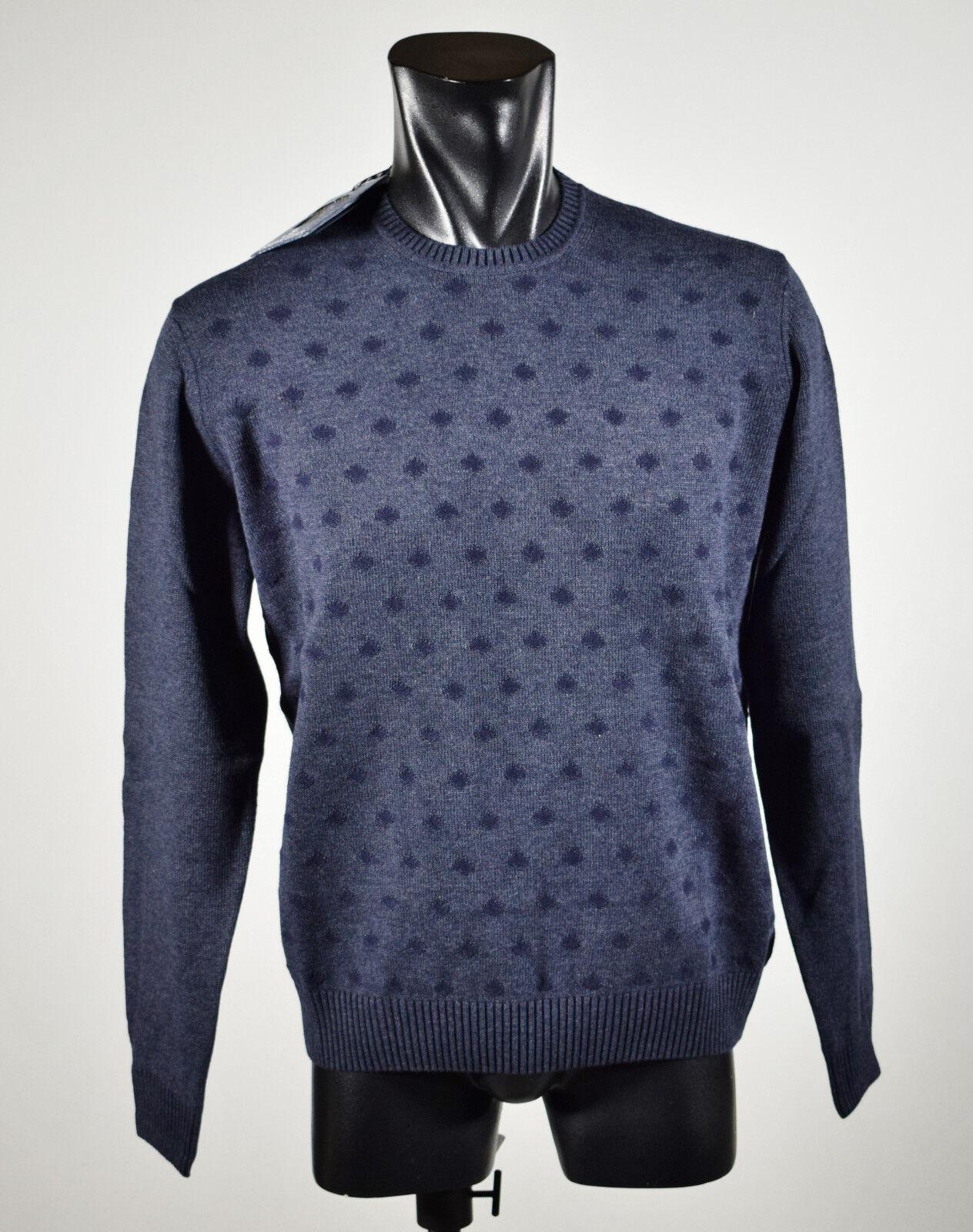Maglione Ocean Star Girocollo misto lana lavata lavata lavata vestibilità slim fit tre colorei d78527