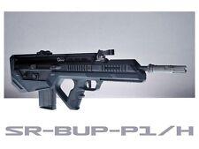 SRU Prototype Bullpup Kit for WE SCAR-L GBB Airsoft (Black)