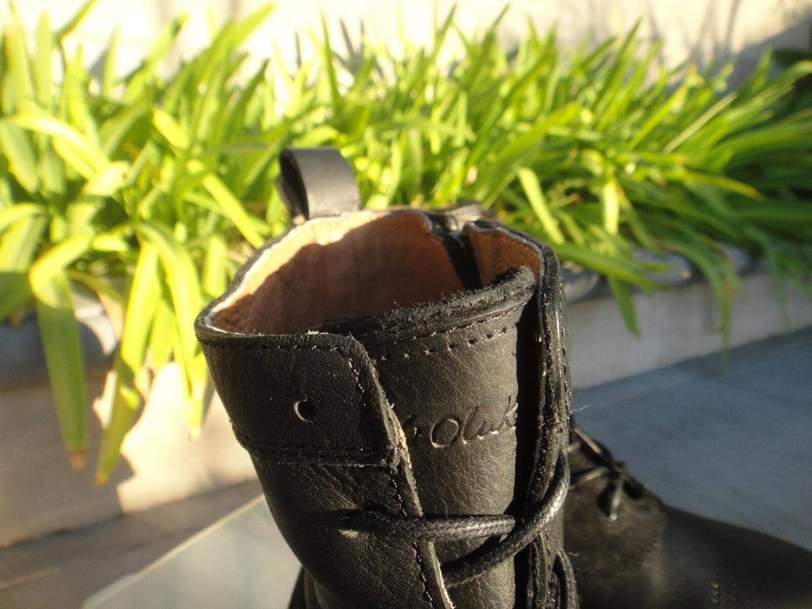 OluKai NANI KAMEA, Inside Zip Lace BROGUE Up BROGUE Lace Stiefel Damenschuhe' Sz US7M, NWOT 7fb040