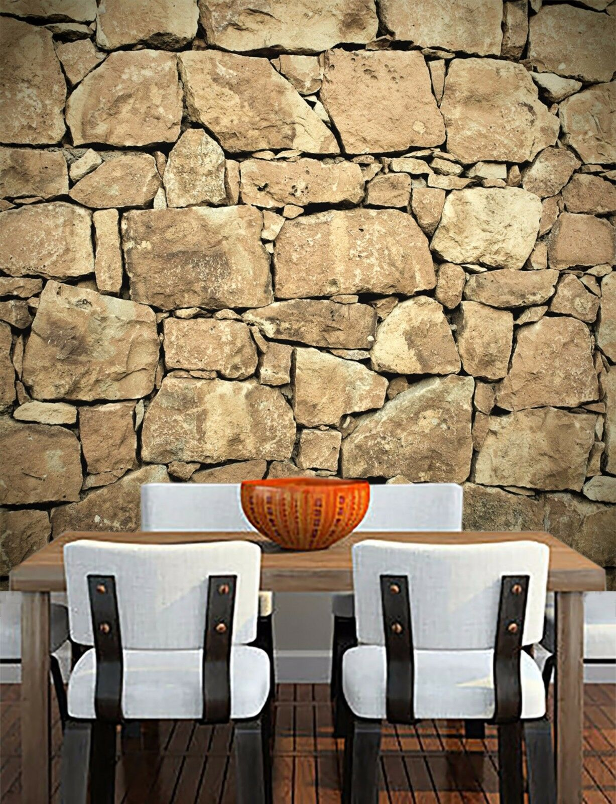 3D Stone Wall 50 Wallpaper Murals Wall Print Wallpaper Mural AJ WALL AU Lemon