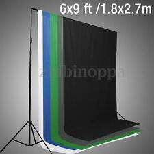 6x9 ft Studio Photo Photography  Muslin Cotton Backdrop Background Screen