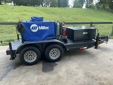 Miller 301g Trailblazer Welder Torch Set Withcustom Trailer 171 Hrs