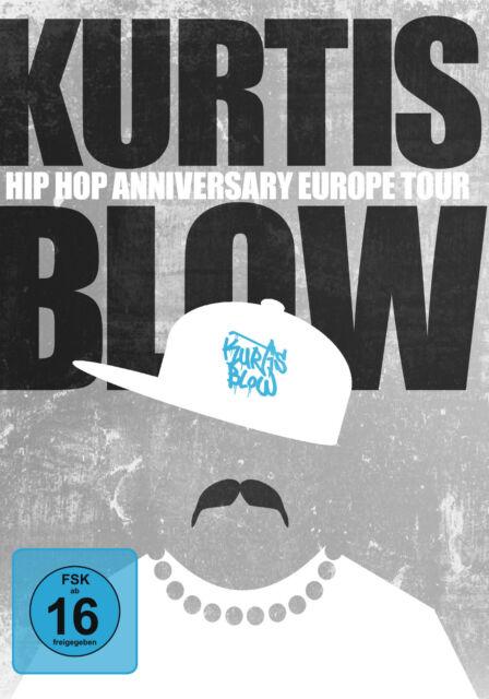 DVD Kurtis Blow Hip Hop Anniversaire Europe Tour