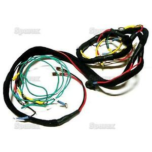 ford tractor main wiring harness series 600 700 800 900. Black Bedroom Furniture Sets. Home Design Ideas