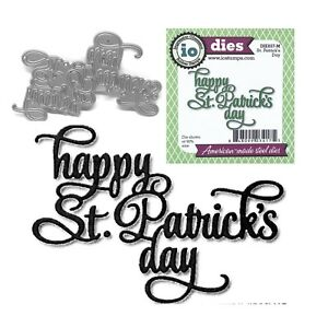 St-Patrick-039-s-Day-Words-Metal-Die-Cut-Impression-Obsession-Cutting-Dies-DIE657-M