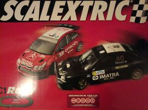 Scalextric - Extras du Rally C1 (9062 8408): commutateur de pistes de ski Audi Quattro