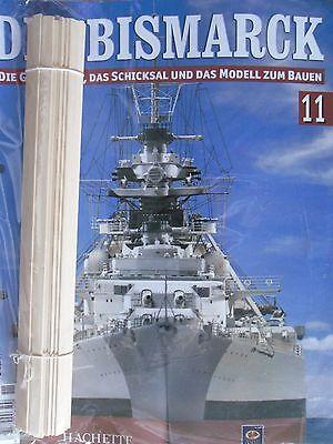 Bismarck//Ausgabe 108//Hachette//Die Geschichte und  Modell Bauen