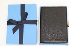 *TWO* Smythson Passport Holder Cover Black Couple Travel Birthday Wedding Gift
