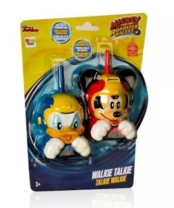Mickey-and-the-Roadster-Racers-Walkie-Talkies-Mickey-and-Donald-100m-Range