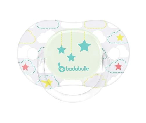 Star Moon, Badabulle Glow In The Dark Physiological Pacifiers 12 To 36 Months
