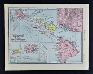 1911 McNally Map - Hawaii Islands - Oahu Honolulu Kauai Maui Lanai on map of maui, map of ballast point, map of honolulu, map of hanalei, map of oahu, map of holualoa, map of makawao, map of coral baja, map of kohala coast, map of kiholo bay, map of southern tier, map of kauai marriott resort, map of tiki, map of kahului, map of kunia, map of scott, map of redline, map of hawaii, map of west palm beach airport, map of hilo,