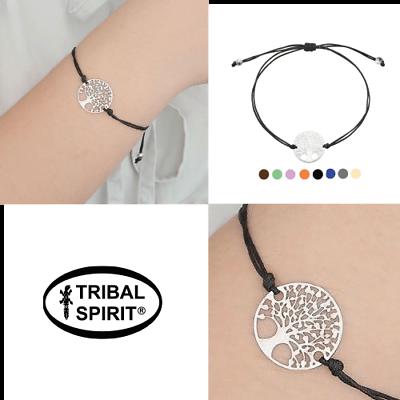 "SchöN Tribal Spirit Armband ""lebensbaum"" Baum Des Lebens Bracelet Tree Of Life"