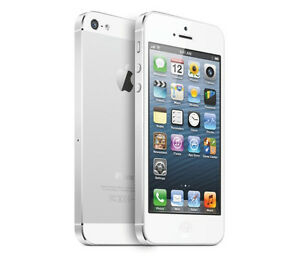 Apple-iPhone-5-16GB-Blanco-amp-Silver-Libre-Buena-Condicion