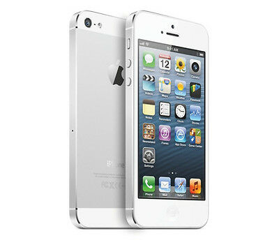 Apple iPhone 5 16 GB White & Silver (Unlocked)  grade A 12 months warranty