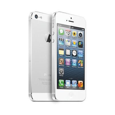 Apple iPhone 5 16 GO Blanc Et Argent (débloqué) bon état