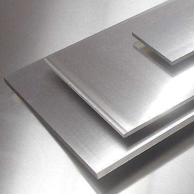 62,25 €//m Aluminium Blech 300x250x8mm Alu AlMg3 Platte Blende Leiste