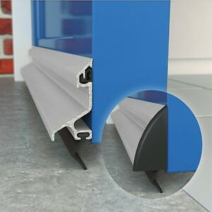 Image Is Loading Exitex Expelex Weather Bar Rain Deflector Draught Excluder