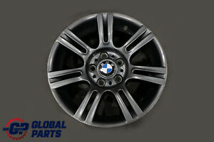 BMW-3-Series-E90-E91-E92-Grey-Wheel-Alloy-Rim-M-Double-Spoke-194-17-034-ET-34-8J