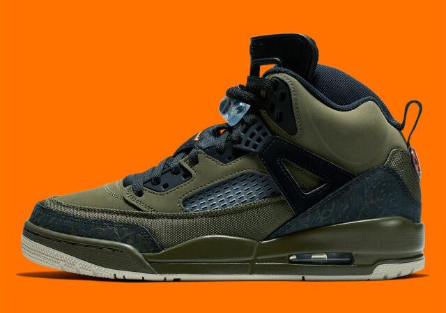 best authentic dd34b 9ba17 Nike Air Jordan Spizike OLIVE CANVAS UNDFTD MILITARY GREEN BLACK 315371-300  8-12