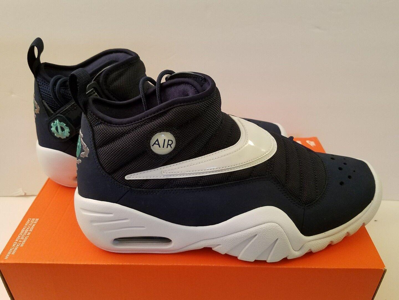 NIKE MEN'S AIR SHAKE NDESTRUKT Size 10 Basketball Shoe 880869 402 NEW