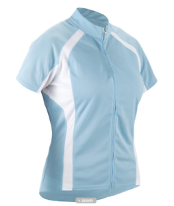 Cannondale Cycling Womens Classic Jersey Light bluee Small S   convenient